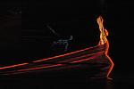 Blue Lady by Carolyn Carlson..Solo - Creation 1983 / Recreation Biennale..Tero Saarinen..Lighting Designer : Peter Vos (recreation)..Artistic direction : Carolyn Carlson.... Biennale de la Danse de Lyon ..Le toboggan, Decines,..France..6 september 2008..Laurent Paillier / www.photosdedanse.com