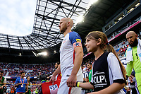 Harrison, NJ - Friday Sept. 01, 2017: Michael Bradley, Volpi prior to a 2017 FIFA World Cup Qualifier between the United States (USA) and Costa Rica (CRC) at Red Bull Arena.