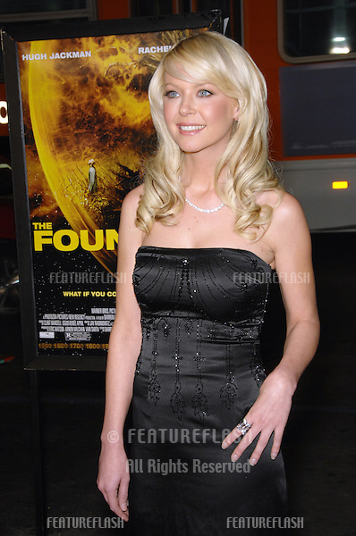 """TARA REID at the US premiere of """"The Fountain"""" at Grauman's Chinese Theatre, Hollywood..November 11, 2006  Los Angeles, CA.Picture: Paul Smith / Featureflash"""