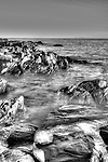 Photo taken at Christmas cove at Pennishaw kangaroo island as the small waves were coming in.