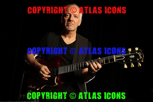 PETER FRAMPTON, BACKSTAGE,  SAN DIEGO 2011, WITH GUITAR AND EQUIPMENT COLLECTION