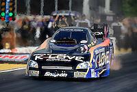 May 4, 2012; Commerce, GA, USA: NHRA funny car driver Tony Pedregon during qualifying for the Southern Nationals at Atlanta Dragway. Mandatory Credit: Mark J. Rebilas-