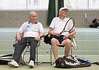 12-03-11, Tennis, Rotterdam, NOVK, Frans Goosen en Cees Marre (R)