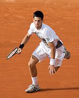 30-5-08, France,Paris, Tennis, Roland Garros, Djokovic