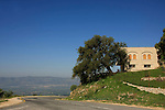 Golan Heights, Oak trees by the burial place of the Druze prophet Nabi Hazuri