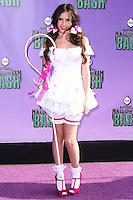 SANTA MONICA, CA - OCTOBER 20: Actress Ryan Newman arrives at Hub Network's 1st Annual Halloween Bash held at Barker Hangar on October 20, 2013 in Santa Monica, California. (Photo by Xavier Collin/Celebrity Monitor)
