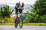 Christopher Juul Jensen (DEN/IRL) Team BikeExchange in action during Stage 5 of the 2021 Tour de France, an individual time trial running 27.2km from Change to Laval, France. 30th June 2021.  <br /> Picture: A.S.O./Charly Lopez | Cyclefile<br /> <br /> All photos usage must carry mandatory copyright credit (© Cyclefile | A.S.O./Charly Lopez)