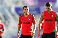 Orlando, Florida - Tuesday July 30, 2019: Club Atletico de Madrid Training was held at Exploria Stadium as preparations for the MLS All-Star Game.