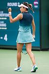 March 10, 2019: Qiang Wang (CHN) defeated Elise Mertens (BEL) 7-6, 6-7, 6-3 at the BNP Paribas Open at the Indian Wells Tennis Garden in Indian Wells, California. ©Mal Taam/TennisClix/CSM