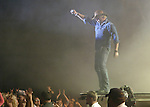 Cathleen Allison/Nevada Appeal.Toby Keith talks to the crowd at the Harvey's Outdoor Arena during his concert in Aug. 2004. Keith will be performing there again Aug. 18.