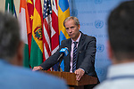 Security Council President for Briefs Press