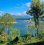 Sri Lanka, near Hatton: Castlerreigh reservoir | Sri Lanka, bei Hatton: Castlerreigh Stausee