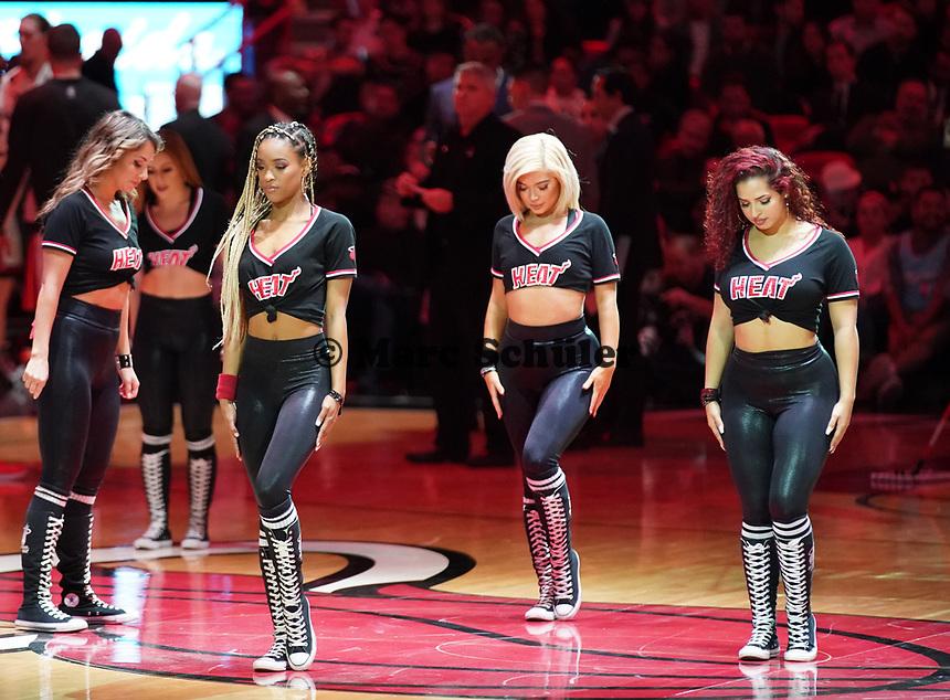 Miami Heat Dancers - 22.01.2020: Miami Heat vs. Washington Wizards, American Airlines Arena