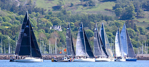 The 2021 Scottish Series had a much reduced IRC fleet and sailed with combined Zero and One fleet