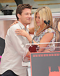 Jason Bateman and Jennifer Aniston  at The Jennifer Aniston Hand and Footprints Ceremony held at The Grauman's Chinese Theatre in Hollywood, California on July 07,2011                                                                               © 2011 DVS / Hollywood Press Agency