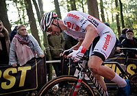 David Van der Poel (NED/Corendon Circus)<br /> <br /> Elite & U23 Mens Race<br /> 42nd Superprestige cyclocross Gavere 2019<br /> <br /> ©kramon