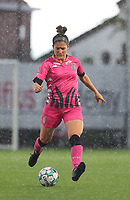 Madison Hudson (8) of Charleroi  pictured during a female soccer game between Sporting Charleroi and White Star Woluwe on the 7 th matchday in play off 2 of the 2020 - 2021 season of Belgian Scooore Womens Super League , friday 14 th of May 2021  in Marcinelle , Belgium . PHOTO SPORTPIX.BE | SPP | Sevil Oktem