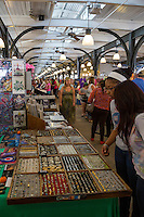 French Quarter, New Orleans, Louisiana.  Jewelry for Sale in the French Market.