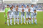 ./Gamba Osaka team group line-up, NOVEMBER 10, 2013 - Football / Soccer : 2013 J.League Division 2 match between Kyoto Sanga F.C 0-2 Gamba Osaka at Nishikyogoku Stadium in Kyoto, Japan. (Photo by AFLO) <br /> Gamba Osaka team group shot (Top L-R) Yosuke Fujigaya, Tatsuya Uchida, Akira Kaji, Daiki Niwa, Yasuyuki Konno, Takaharu Nishino, (Bottom L-R) Yasuhito Endo, Hiroki Fujiharu, Shu Kurata, Takashi Usami  and Takahiro Futagawa.