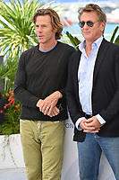 CANNES, FRANCE. July 11, 2021: Danny Moder & Sean Penn at the photocall for Flag Day at the 74th Festival de Cannes.<br /> Picture: Paul Smith / Featureflash