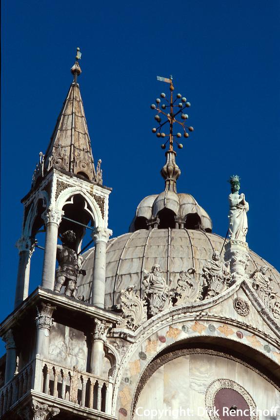 Dom San Marco, Venedig,  Venetien, Italien, Unesco-Weltkulturerbe
