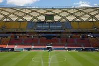 A general view of Arena da Amazonia stadium