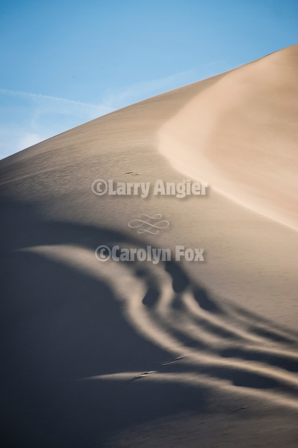 Crescent Dunes in the Big Smoky Valley near Tonopah, Nev.