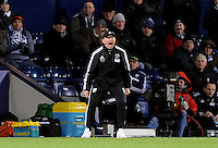 Manager Tony Pulis of West Bromwich Albion during the Barclays Premier League match between West Bromwich Albion and Swansea City at The Hawthorns on the 2nd of February 2016