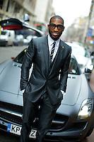 London Collections Men, Mens Fashion Week, Portrait, Street Style, Tinie Tempah