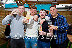 Enjoying a few drinks in the Mermaids in Listowel on Bank Holiday Monday, l to r: Cian Horgan, Lorcan Moloney, Darragh Breen and Jaydon Prendeville.