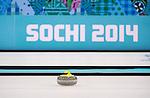 Sochi 2014 - Wheelchair Curling // Curling en fauteuil roulant.<br /> Canada takes on Russia in the Gold Medal Wheelchair Curling match // Le Canada affronte la Russie dans le match pour la médaille d'or de curling en fauteuil roulant. 15/03/2014.