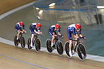 Team GB Track Cycling..Team pursuit riders Andy Tennant, Geraint Thomas, Peter Kennaugh and Ed Clancy..19.07.12.©Steve Pope