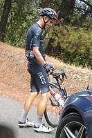 29th August 2020, Nice, France;  AMADOR Andrey of INEOS Grenadiers during stage 1 of the 107th edition of the 2020 Tour de France cycling race, a stage of 156 kms with start in Nice Moyen Pays and finish in Nice