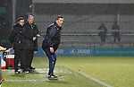 Barnet 2 Morecambe 0, 16/12/2017. The Hive, League Two. Mark McGhee Manager of Barnet. Photo by Paul Thompson.