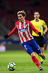 Antoine Griezmann of Atletico de Madrid in action during the La Liga 2017-18 match between Atletico de Madrid and CD Leganes at Wanda Metropolitano on February 28 2018 in Madrid, Spain. Photo by Diego Souto / Power Sport Images