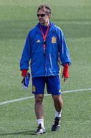 Spainsh coach Julen Lopetegui during the training of the spanish national football team in the city of football of Las Rozas in Madrid, Spain. November 09, 2016. (ALTERPHOTOS/Rodrigo Jimenez) ///NORTEPHOTO.COM