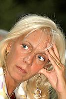 Roma 11 09 2004 Dibattito:Procreazione Assistita:chi difende i diritti del concepito?Olimpia Tarzia Responsabile Nazionale UDC per la Famiglia                                                                                           photo:Serena Cremaschi Insidefoto