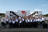 #26: Colton Herta, Andretti Autosport w/ Curb-Agajanian Honda and the Honda HPD engineers celebrate their 2021 Manufacturer's Championship