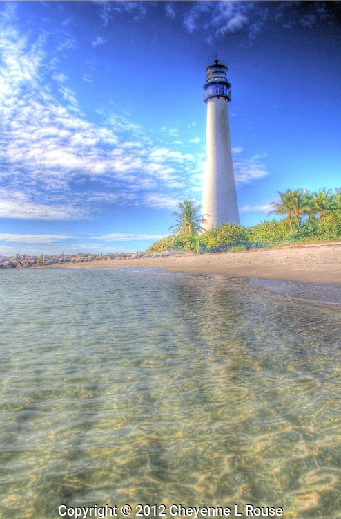 Cape Florida Lighthouse - Bill Baggs State Park, Key Biscayne, Miami, Florida