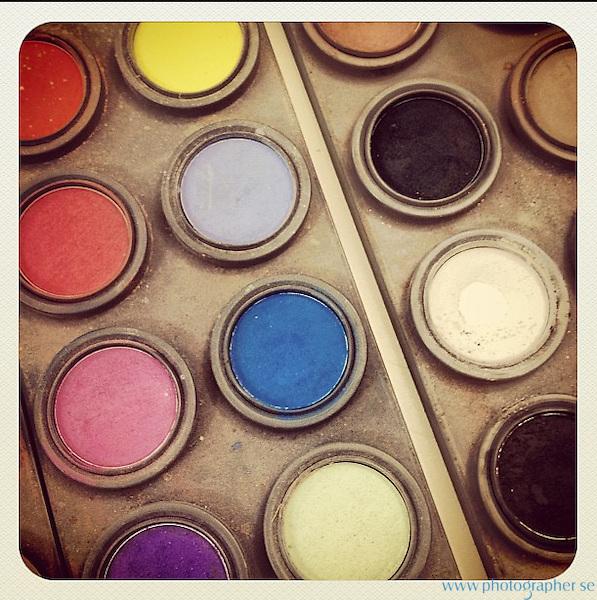 makeup in the studio
