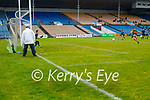 David Clifford, Kerry scores a goal from a penalty in extra time during the Allianz Football League Division 1 South between Kerry and Dublin at Semple Stadium, Thurles on Sunday.