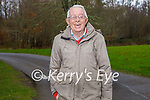 Denis Reidy enjoying a stroll in the Killarney National park on Friday.