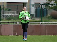 Finale Beker van West-Vlaanderen Vrouwen FC Knokke - SK Opex Girls Oostende : Tiffany Buysens  <br /> foto DAVID CATRY | Sportpix.be