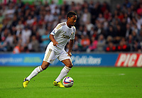 Pictured: Jonathan de Guzman of Swansea. Tuesday 28 August 2012<br /> Re: Capital One Cup game, Swansea City FC v Barnsley at the Liberty Stadium, south Wales.