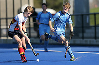 John McGlashan College vs. Nelson College. South Island Secondary Schools Hockey Premiership, Nga Puna Wai, Christchurch, Thursday 3 September. Photo: Martin Hunter/www.bwmedia.co.nz