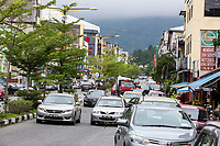 Street Scene with Local Traffic, Taiping, Malaysia.