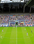 Huddersfield Town 1 Wolverhampton Wanderers 0, 27/08/2016. John Smith's Stadium, Championship. The TV gantry at The John Smiths Stadium. Photo by Paul Thompson.