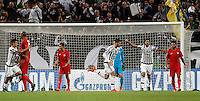 Calcio, Champions League: Gruppo D - Juventus vs Siviglia. Torino, Juventus Stadium, 30 settembre 2015.  <br /> Juventus' Alvaro Morata, third from right, celebrates after scoring during the Group D Champions League football match between Juventus and Sevilla at Turin's Juventus Stadium, 30 September 2015.<br /> UPDATE IMAGES PRESS/Isabella Bonotto
