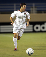 23 July 2005:  Ante Razov of the MetroStars in action against Earthquakes at Spartan Stadium in San Jose, California.  Earthquakes defeated MetroStars, 2-1.  Credit: Michael Pimentel / ISI