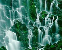 Ramona Falls in the Mt. Hood Wilderness; Mt. Hood National Forest, OR